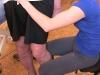 Terapia po udarze mózgu - zgięcie/wyprost niedowładnego stawu kolanowego