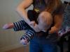 Zawieszenie wg Vojty  - badanie dziecka